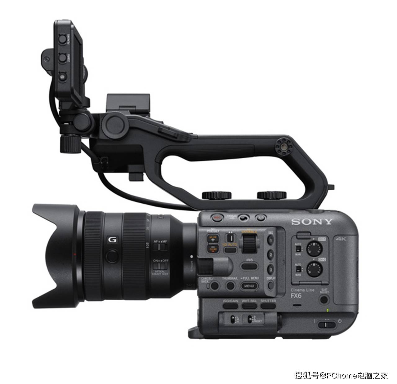 索尼推出Cinema Line系统 FX6摄影机将于年底发售