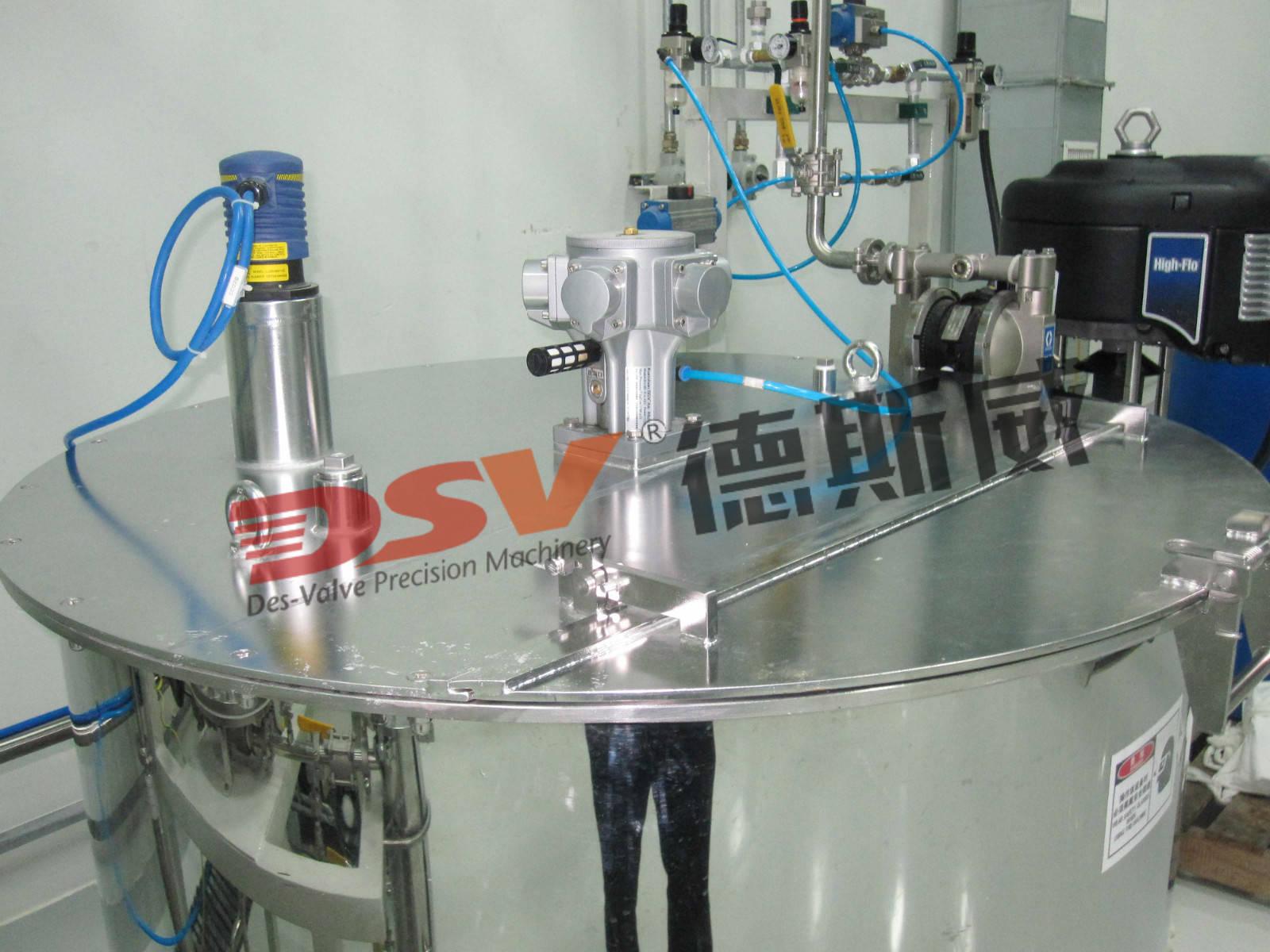 气动搅拌机从环保角度优化调整