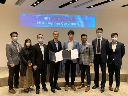 MAD Gaze与香港电讯强强联手 展开5G全面战略伙伴合作
