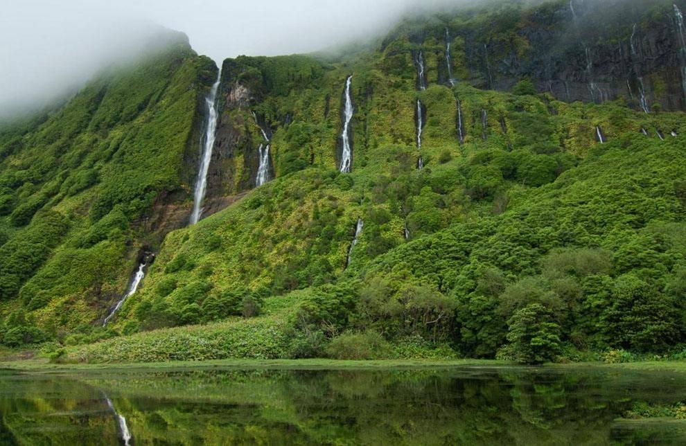 被世界遗忘的土地,只有在大西洋的亚速尔群岛中 世界地图 亚速尔群岛