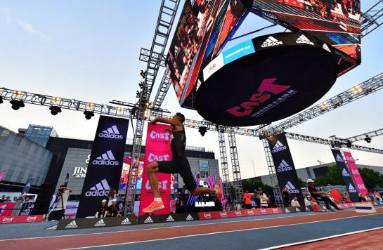 中国田径街头巡回赛南京站  黄常洲追平赛季世界最佳