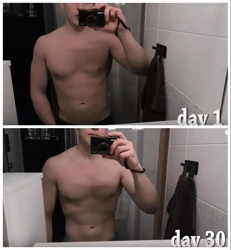每天坚持卷腹200下,一个月后腹肌杠杠的?那你可错了!