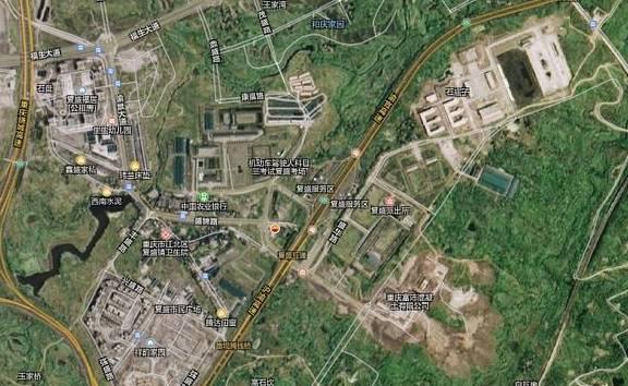 重庆主城区快速发展的小