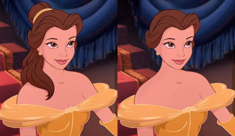 原创             当迪士尼公主变成短发,艾莎女王更帅气,乐佩让我难以接受