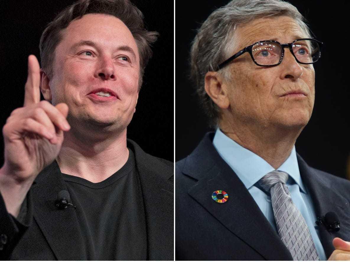 马斯克抨击了亿万富翁比尔·盖茨,说他