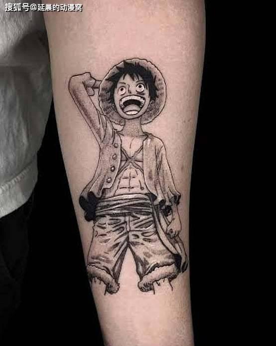 海贼王:当海米遇上纹身贴,谁才是你的最爱?路飞让你无比中二_角色