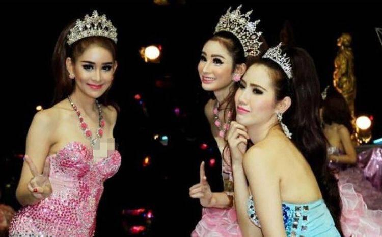 那么为了保持女性的生理特征,这些泰国女性也