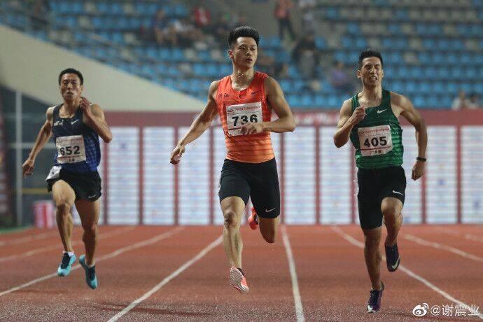谢震业200米夺冠直言没跑尽兴 葛曼棋抢跑被罚下