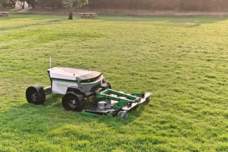 110v无刷电机,AI割草机器人用ML+传感器自动规划路径_Graze