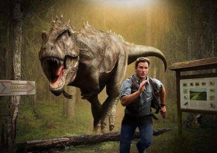 如果75亿人前往侏罗纪,会发生什么?这场比赛令