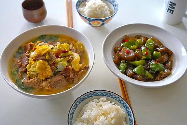 晒晒我家的一日三餐,做法简单又营养美味,更有家的味道