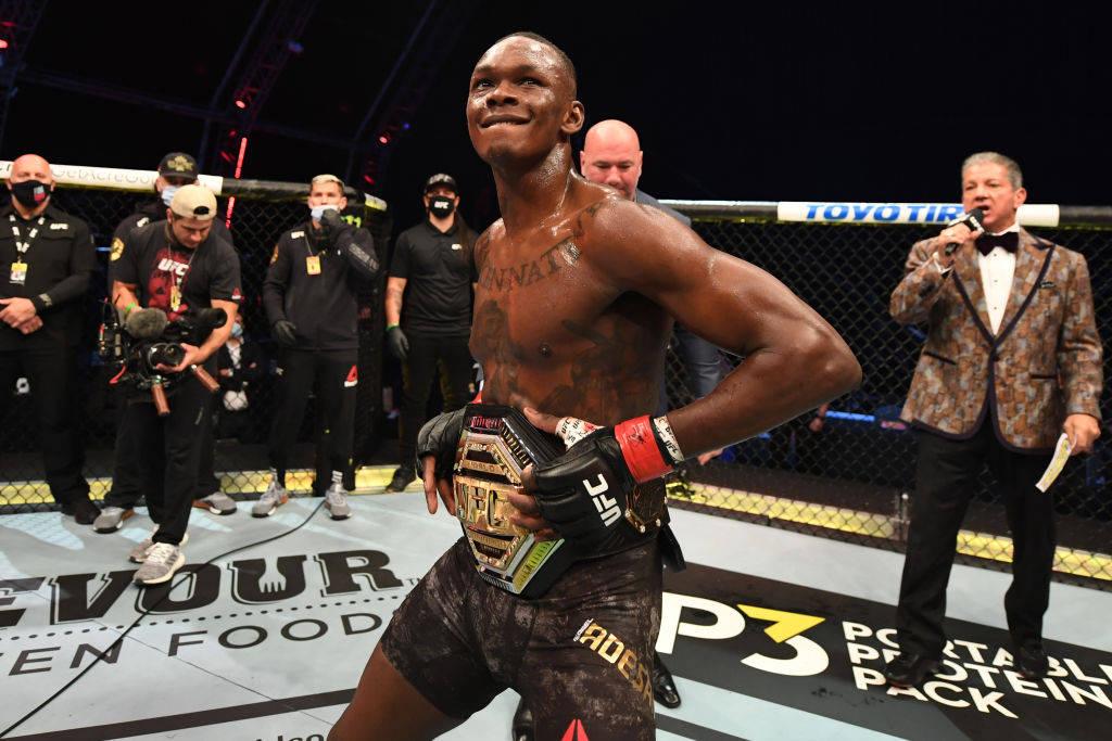 UFC253落幕:阿迪萨亚成功卫冕 布拉乔维奇新科冠军