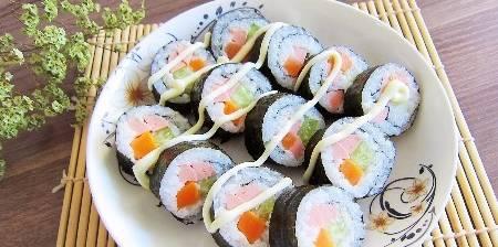 教你在家做寿司 软的好吃