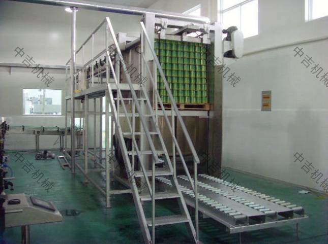 易拉罐果汁饮料生产线第一项内容