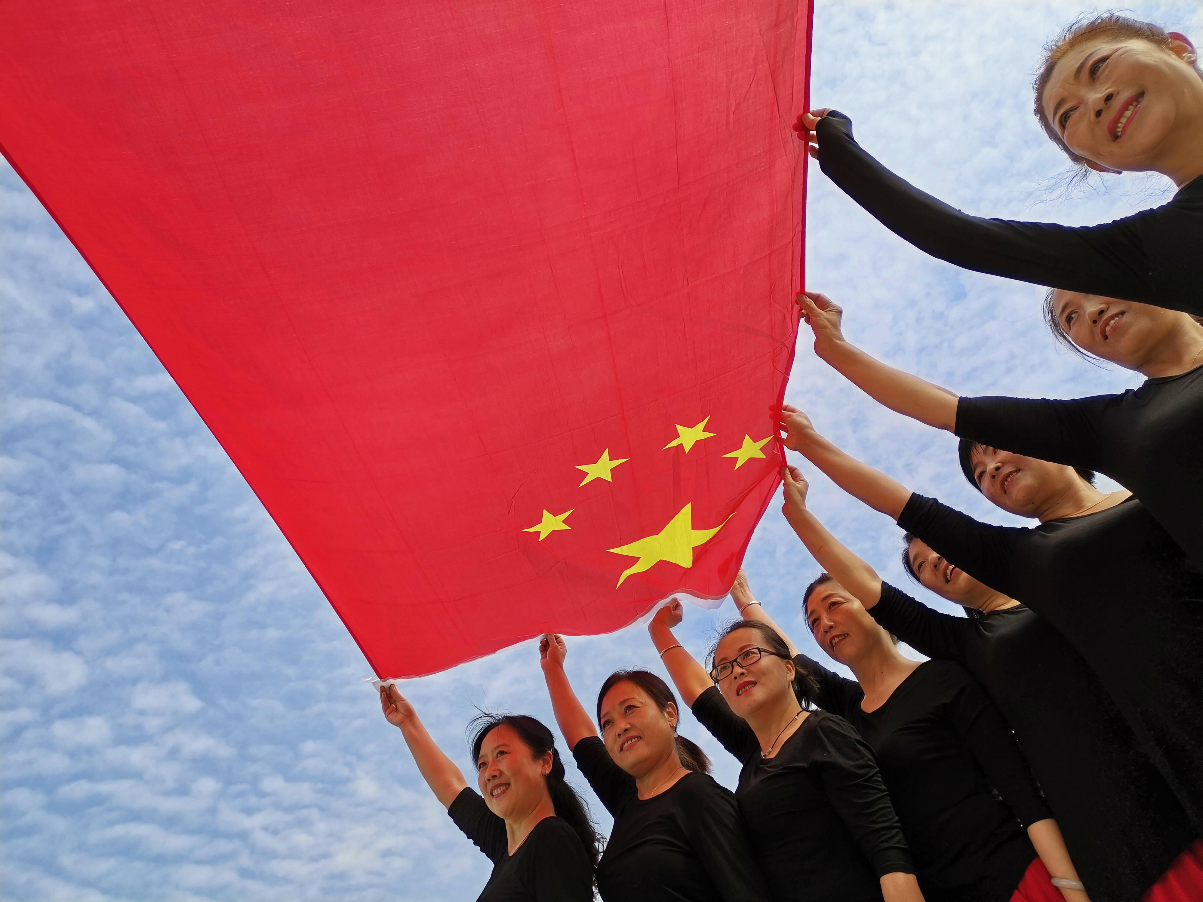 山西阳城:《五星红旗我爱你》