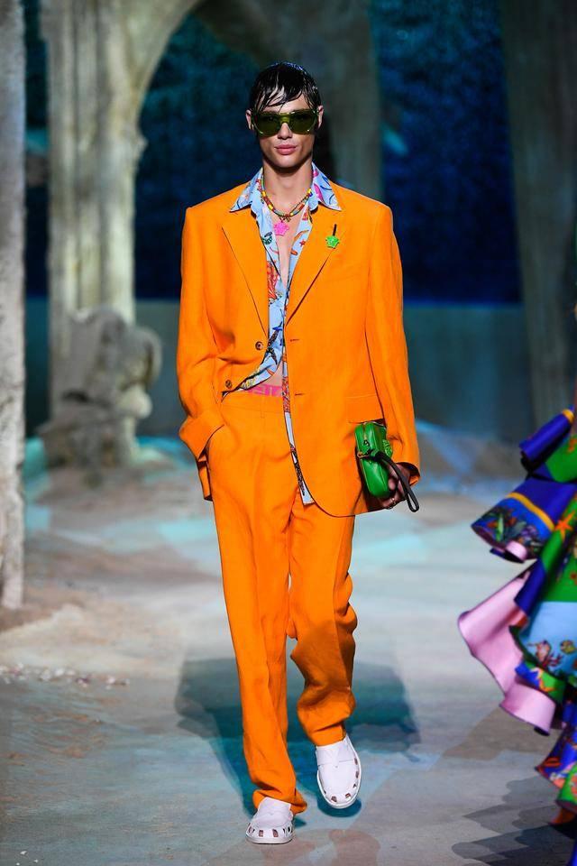 米兰时装周 范思哲 versace 2021春夏成衣系列
