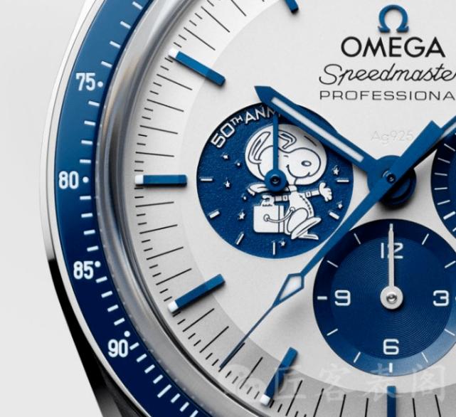 欧米茄手表《走进太空》 除了机动奥特曼史努比还有谁?