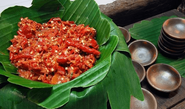 做辣椒酱的时候放一点 开胃提神 很多人