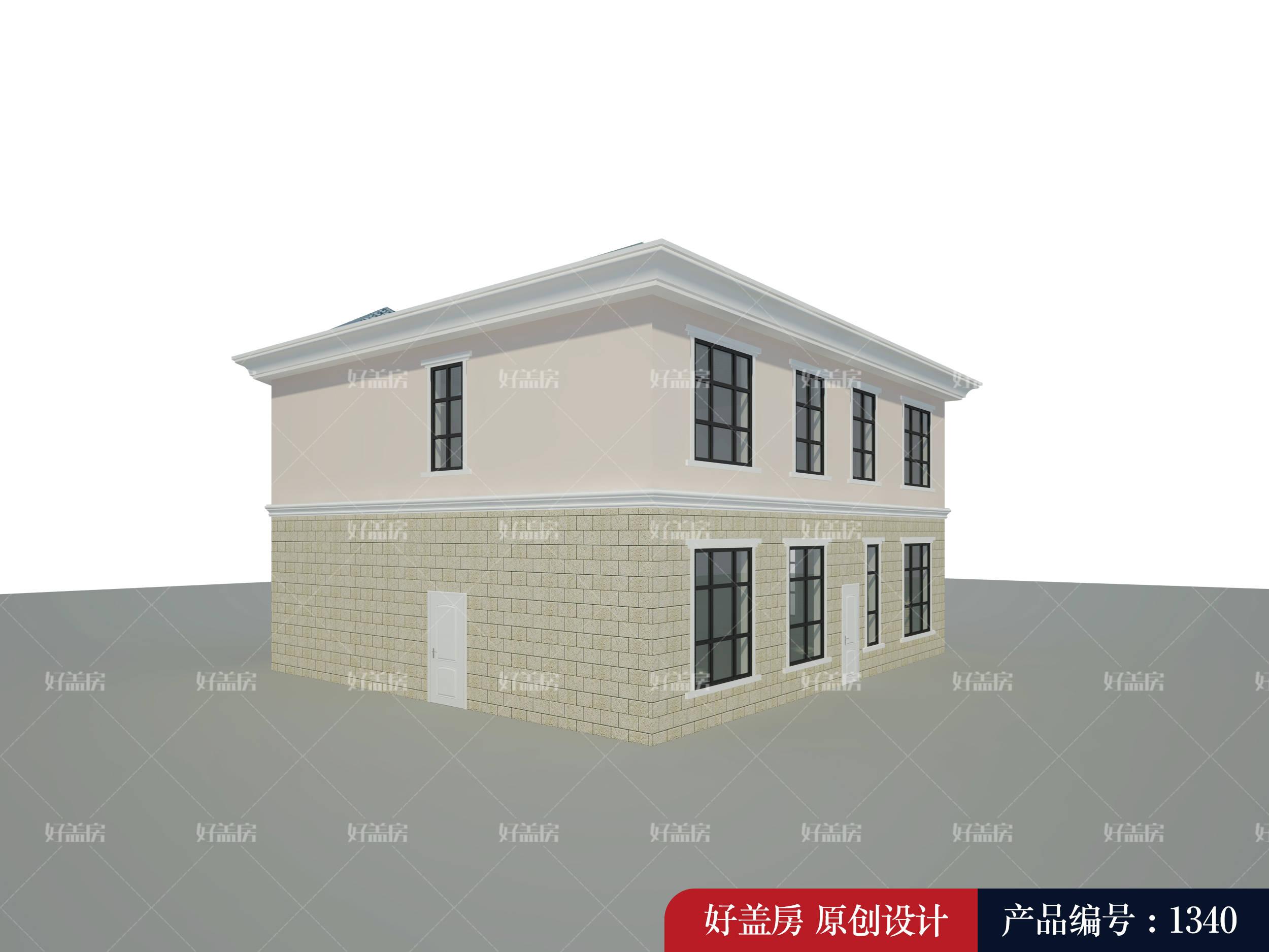 一层楼房效果图