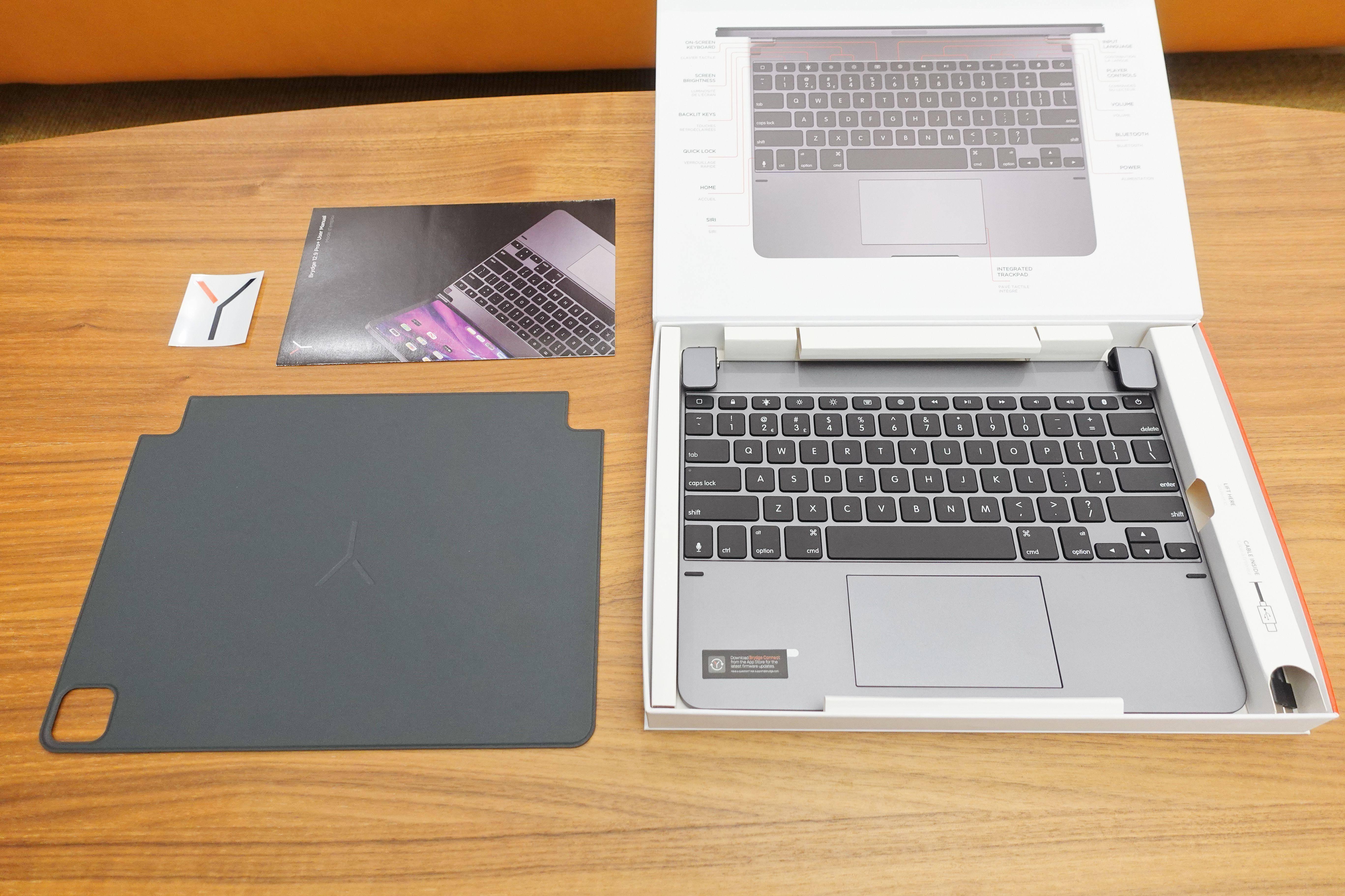 iPad Pro妙控键盘的平价替代品:Brydge Pro+ 上手体验