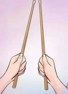 几种常用的握持爵士鼓的方法