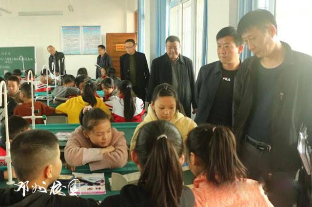 邓州市古城中心校督导组莅临古城实验小学进行义务教育均衡发展工作专项督查