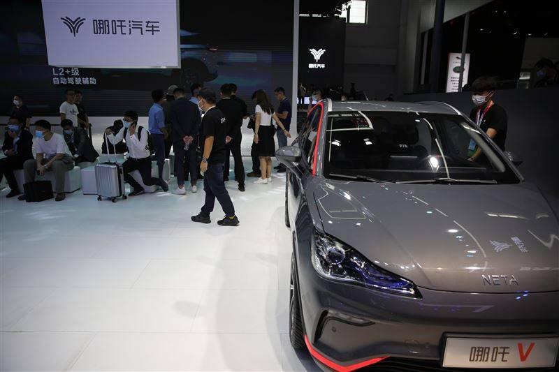 原创哪个V下线,定位智能潮玩纯电动SUV