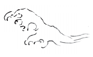 一起来学习山水画中 水 的表现形式