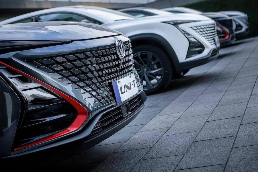 长安汽车UNI系列第二款量产车图,定位中型SUV