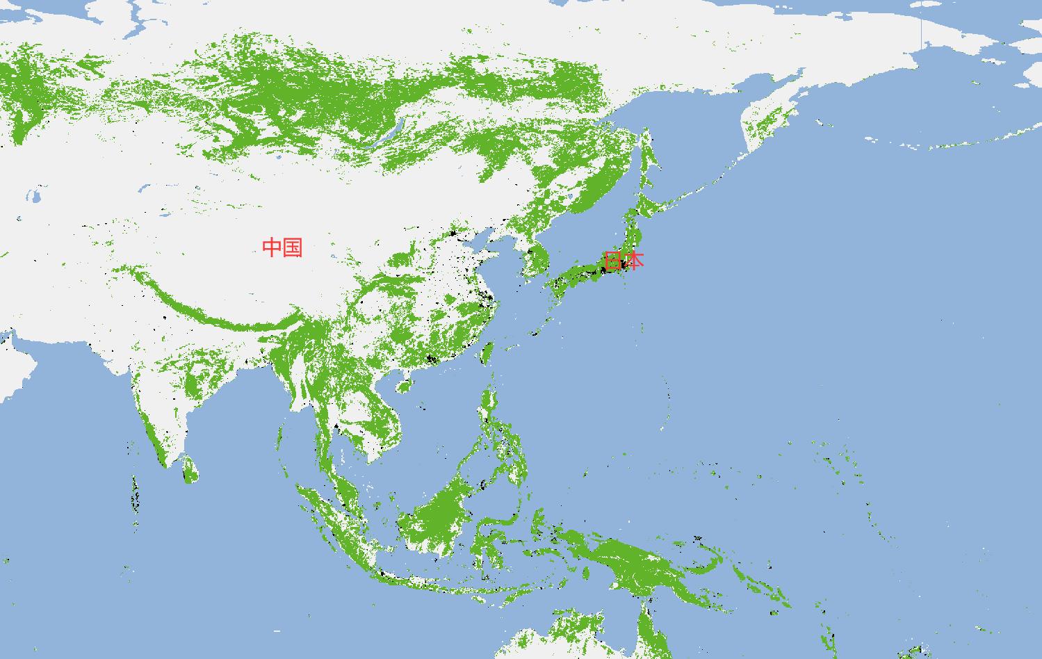 森林覆盖率:中国达22.96%,日本69%,为何我国做得还更出色?
