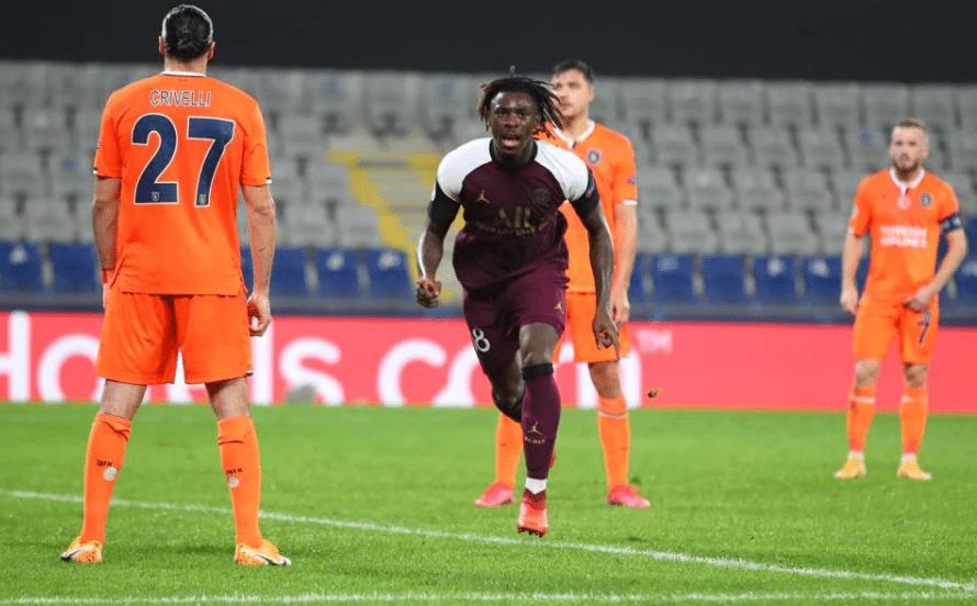欧冠-内马尔伤退基恩连场梅开二度巴黎2-0客胜