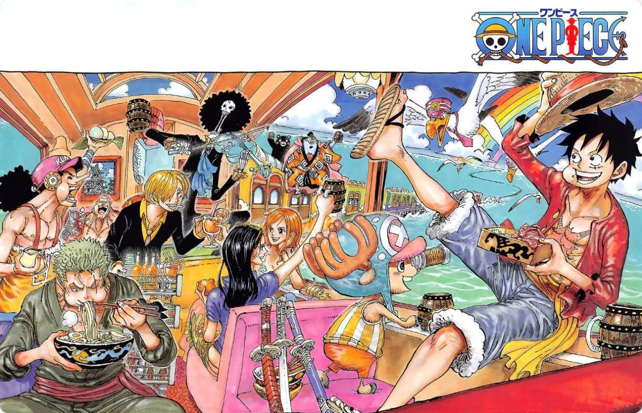 海贼王:草帽团除了战斗都在桑尼号做什么?尾田早给出答案