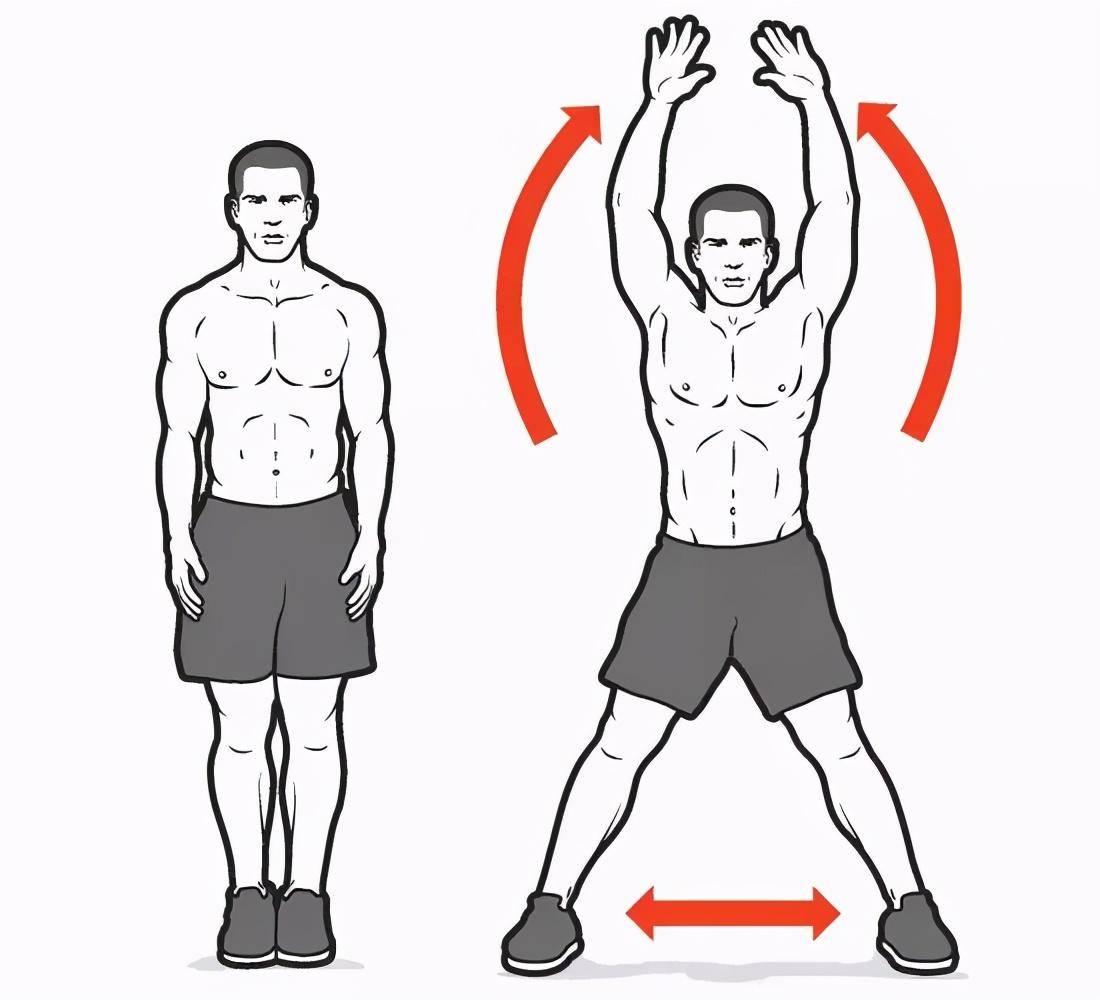 开合跳主要锻炼什么?坚持开合跳训练,你会收获什么益处?