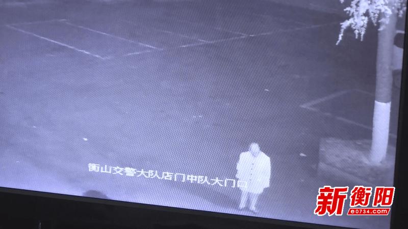 衡山县:花甲老人深夜迷路街头 民警暖心救助送其回家