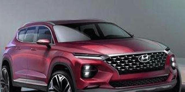 原装现代进口SUV近5米长,3.3L V6四驱动力十足