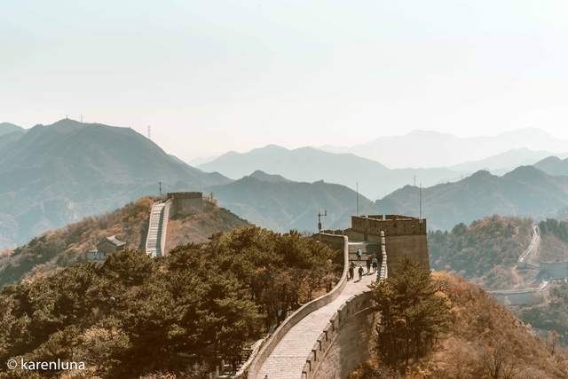 登高望远,金秋时节的八达岭长城竟如此惊艳