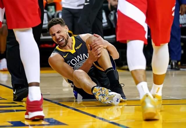 NBA一夜3消息!克莱再受伤,詹姆斯发声,维金斯签约中国品牌