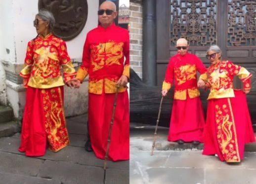 """""""年龄最大""""的婚纱照,看到82岁老奶奶的时候,网友:太时尚了"""