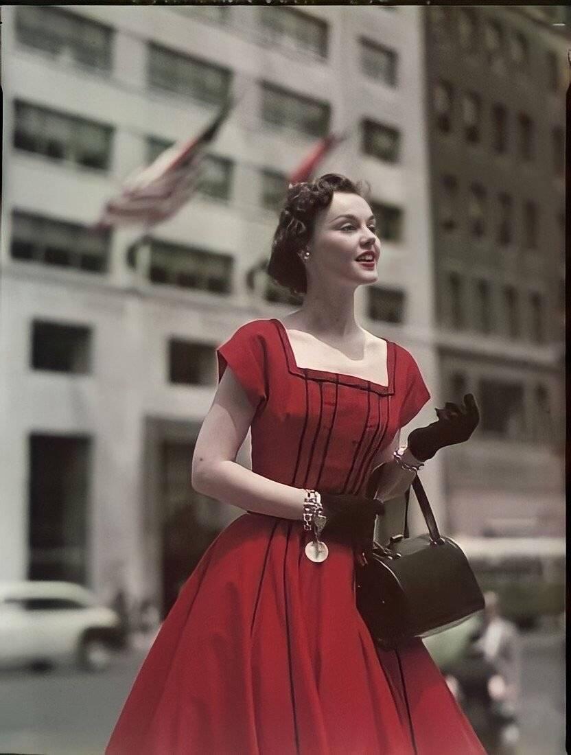 正宫娘娘的标配,大红色永不过时,满满的高级感