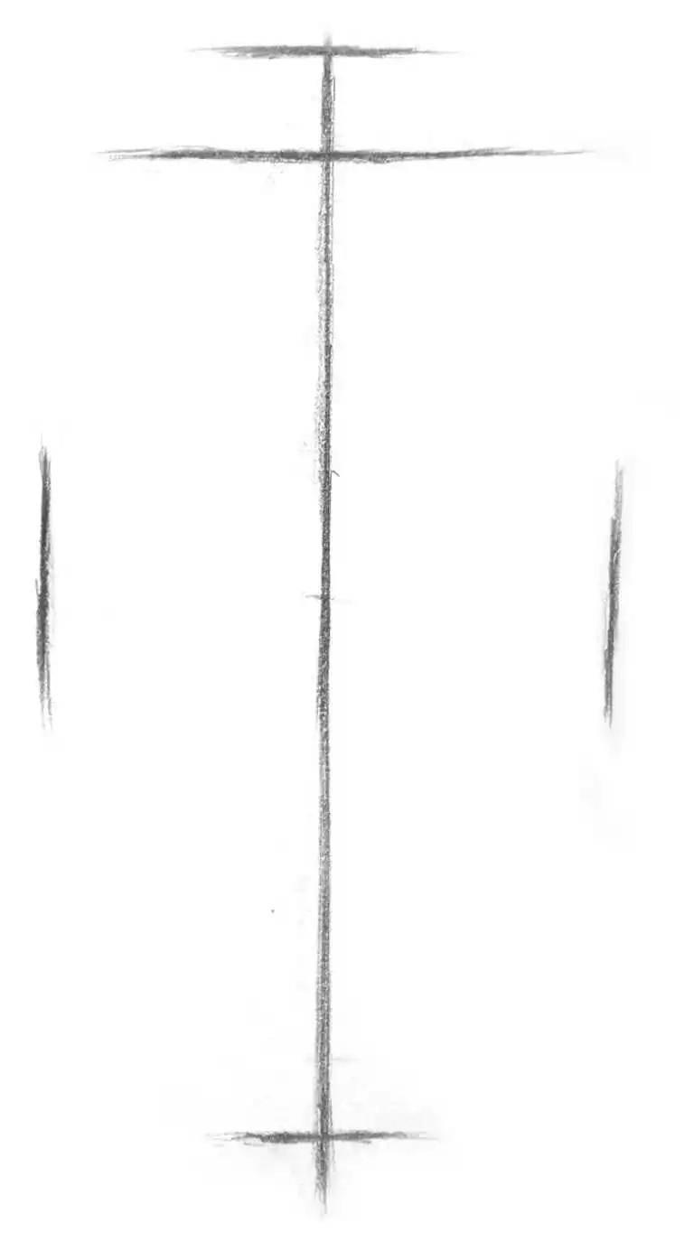 圆柱几何体结构素描