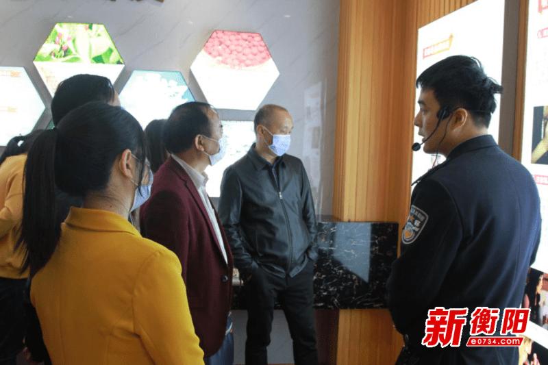 衡阳市交通运输局组织干部职工参观市公职人员禁毒教育基地