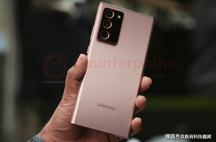 2020年9月全球最畅销5G手机揭晓,三星Note 20 Ultra夺冠
