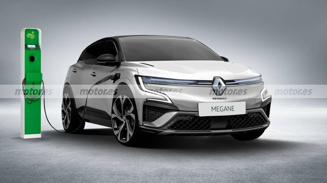 原设计忠于概念车,内饰大屏幕夸张,全新雷诺Megane效果图曝光