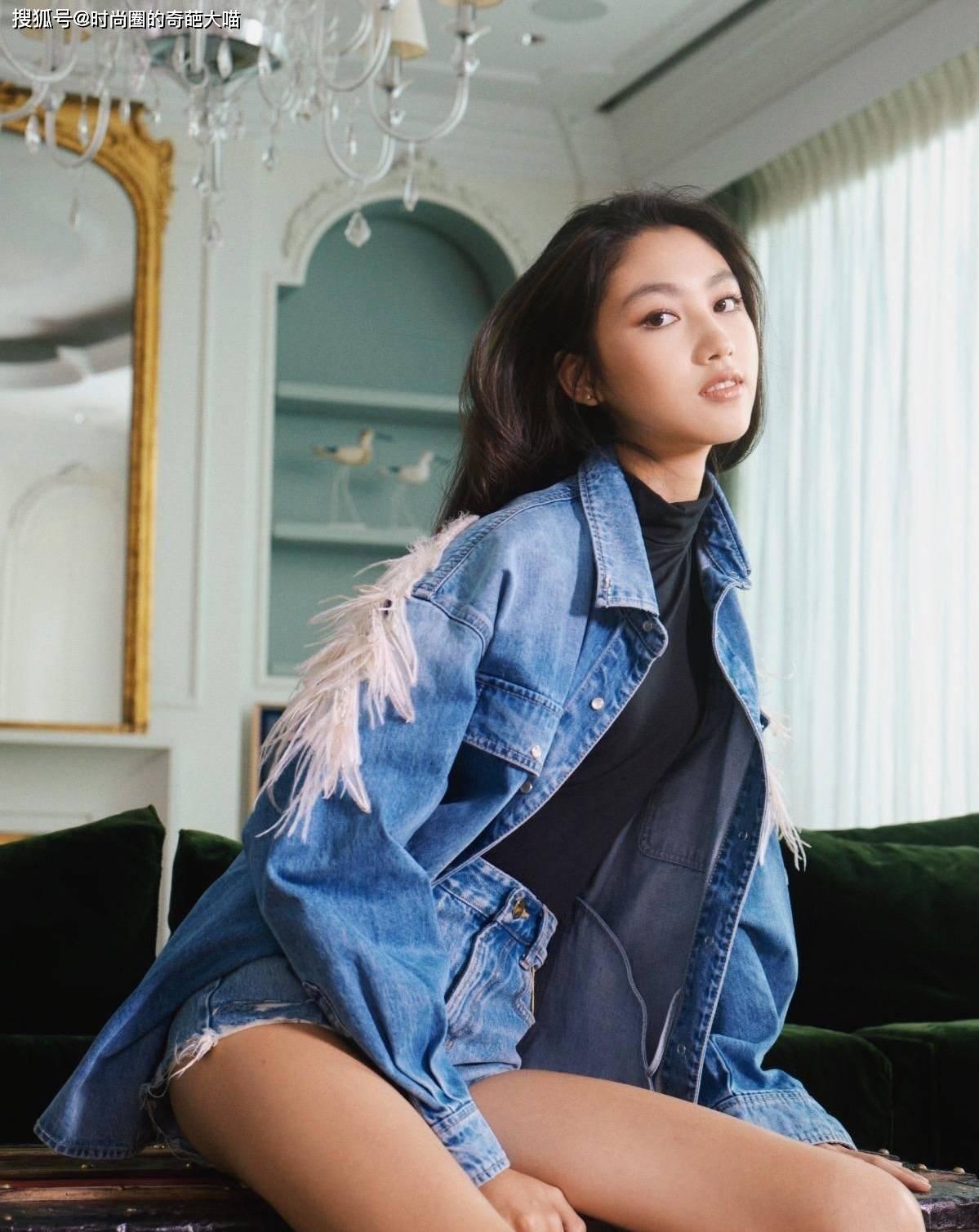 任达华女儿15岁就超模范十足,逆天长腿拍大片,不进时尚圈可惜了