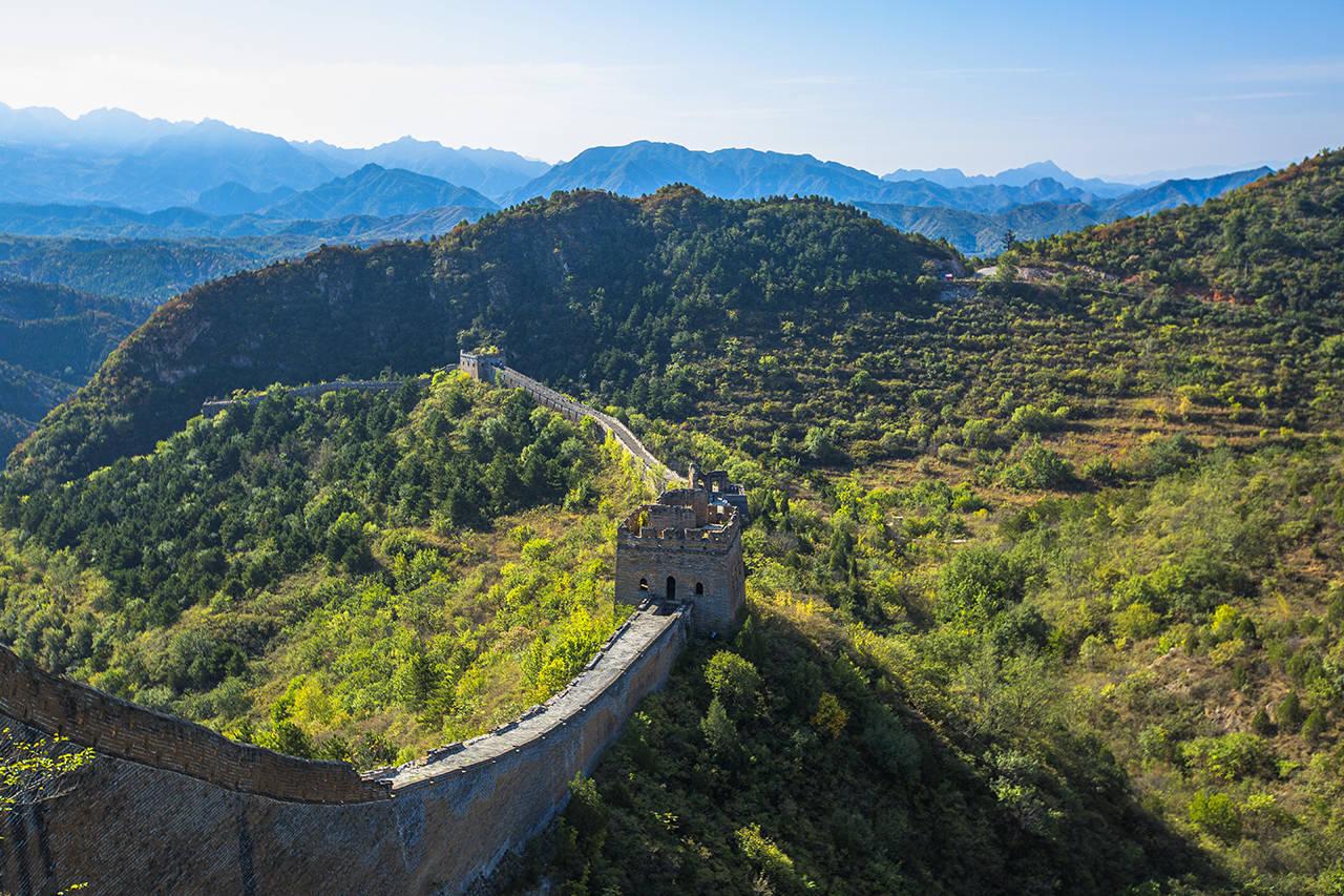 原创             北京景点推荐,人生中一定要来一次的司马台长城