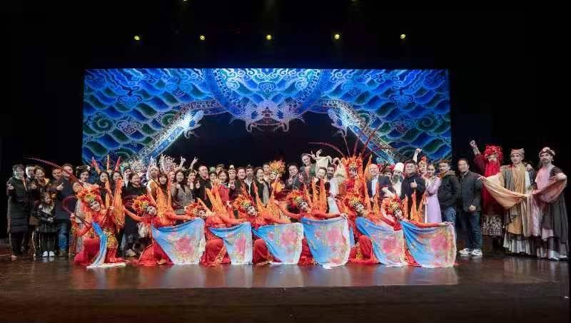 赞!眉山市歌舞剧院开启首次全国巡演之旅