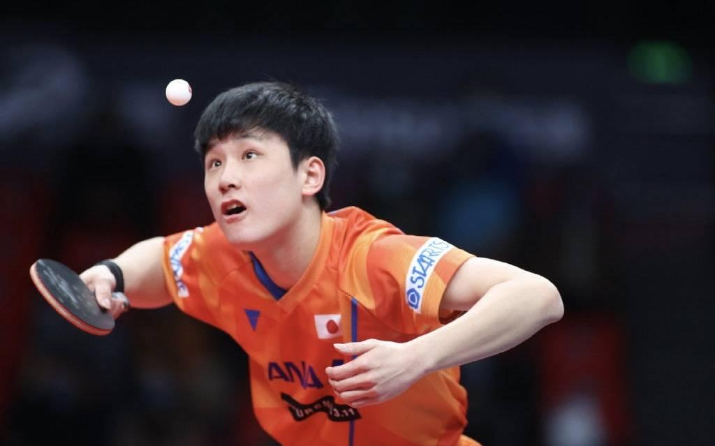 张本智和又被经验了!想拿奥运金牌却输日本队友,抬腿叹气真无法