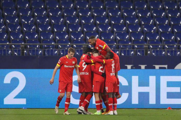 德甲0胜球队沙尔克04迎来了勒沃库森