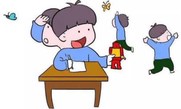 小孩注意力不集中你知道是怎么回事吗?