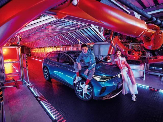 纯电动SUV到店,一汽大众ID.4 CROZZ开另一扇门